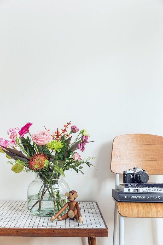 Boeket bloemen op tafel | Bouquet of flowers on the table | Bloomon