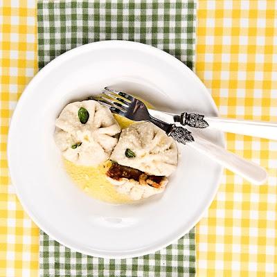 dumplings stuffed with bolognese - pierogi z farszem bolognese