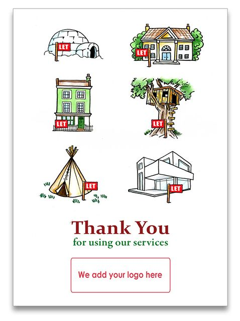 13 best thank you cards for estate agents images on pinterest greetings card for letting agents to send to tenants when they move in m4hsunfo