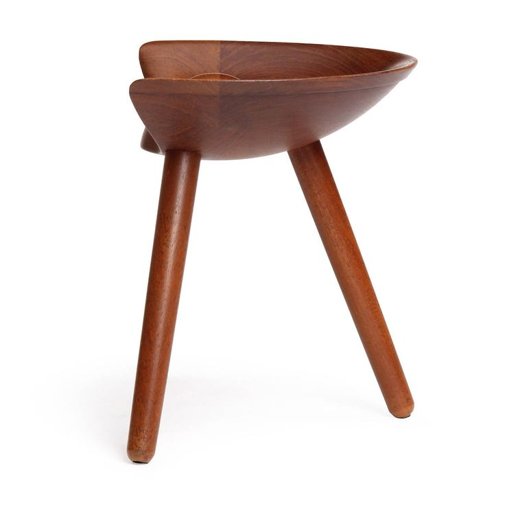 Stool by Mogens Lassen   From a unique collection of antique and modern stools at https://www.1stdibs.com/furniture/seating/stools/