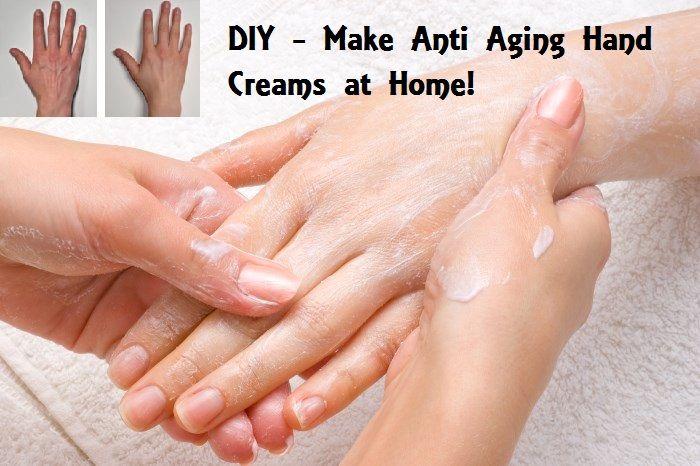 DIY Homemade Anti Aging Hand Cream Recipes