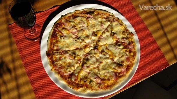 Pizza ako z pizzerie