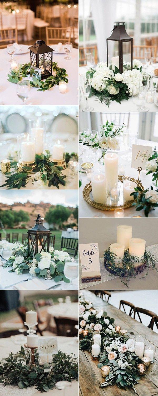 15 Simple But Elegant Wedding Centerpieces For 2019 Trends Emmalovesweddings Wedding Centerpieces Wedding Floral Centerpieces Flower Centerpieces Wedding