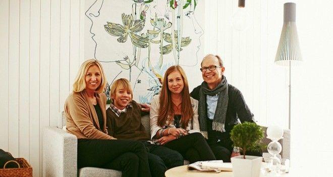 Familia sueca registra su nueva vida con un 75% menos de huella de carbono lindell