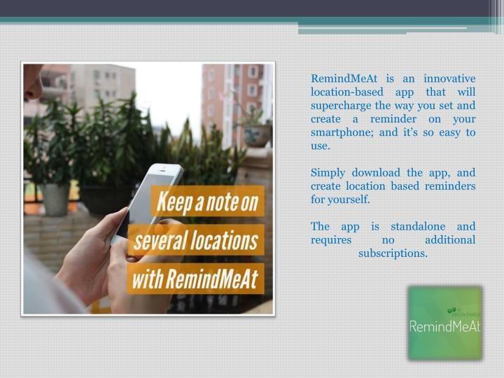 Best Task Manager App - RemindMeAt