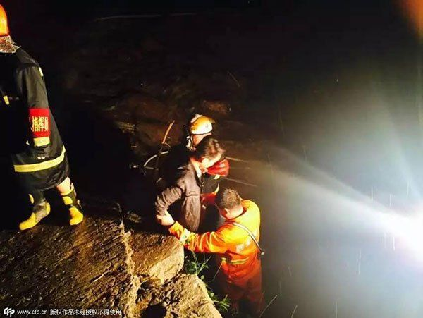 Nine swept away by flash flood in China; 8 bodies recovered