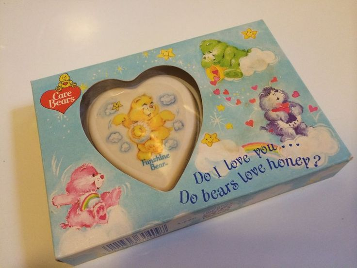Vintage 1980s Care Bear soap. Oh my word the forgotten memories. I had a couple of these and loved them!