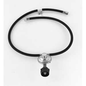 REGULATOR & HOSE (T-TYPE) FOR GRILLPRO 80016 26-INCH DUAL QCC1, CHAR-BROIL, FLAME KING, 21ST CENTURY R46 L.P, BRINKMANN AND LIFE@HOME GL450SKP, GPC2618J, GPC2619J, GSC2318J , GSC2818J GAS GRILL MODELS
