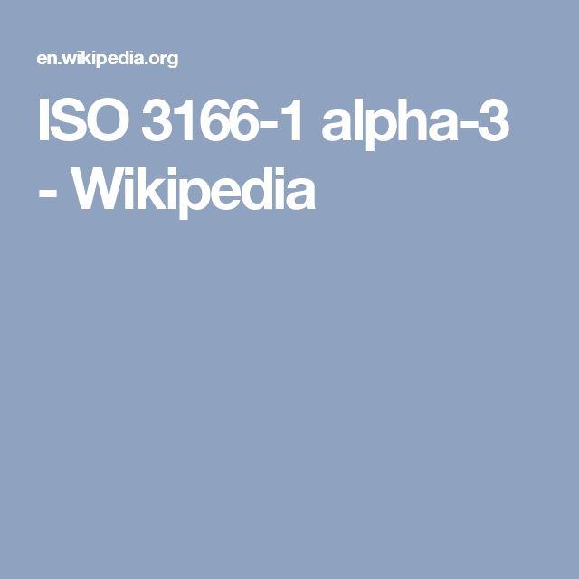 ISO 3166-1 alpha-3 - Wikipedia