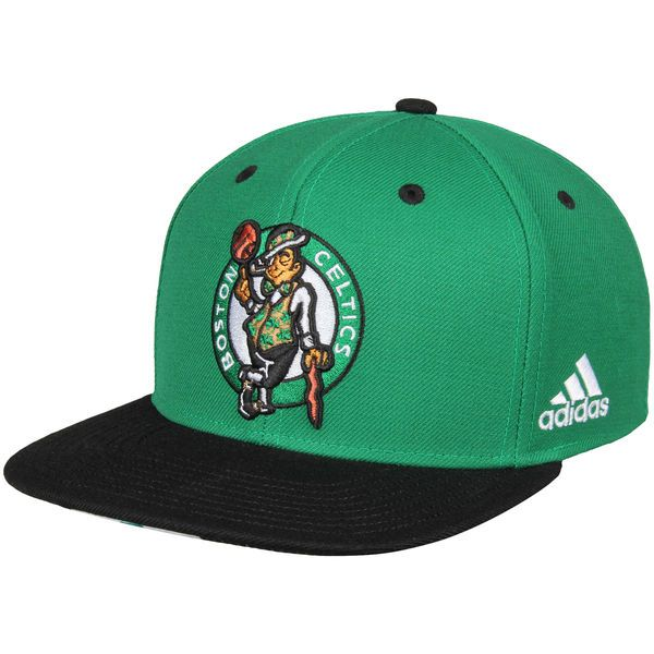 Men's Boston Celtics adidas Kelly Green/Black On-Court Adjustable Snapback Hat, Your Price: $27.99