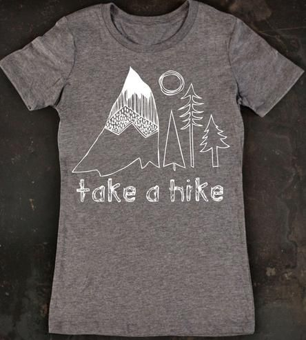Take A Hike Women's Tee by TrulySanctuary on Scoutmob Shoppe