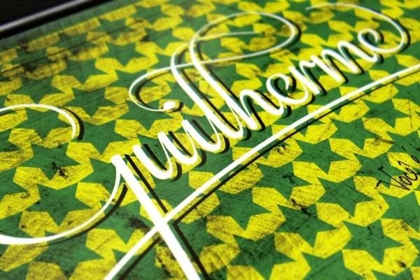 Gui #lettering #postcard #probono