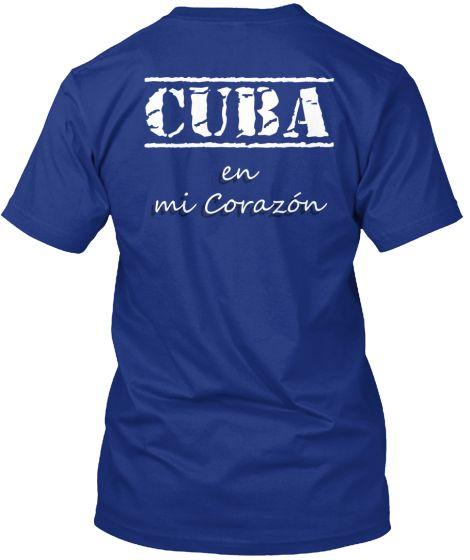 CUBA EN MI CORAZÓN | Teespring