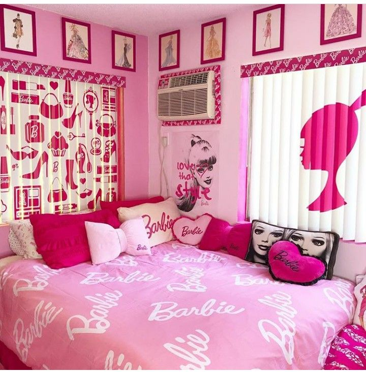 Girls Bedroom Barbie Bedroom Barbie Theme Barbie Barbie