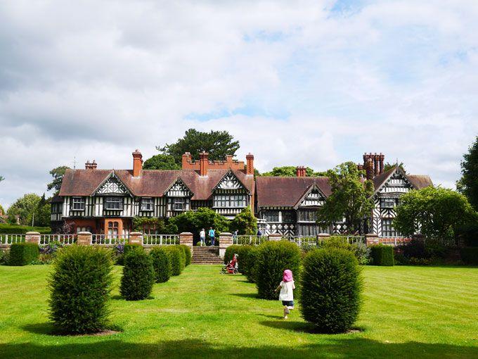Wightwick Manor - National Trust property, Wolverhampton, Midlands UK