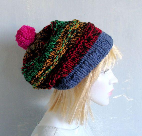 Hat Slouchy Beanie Knit Hat Women Slouchy Beanie Women Knit