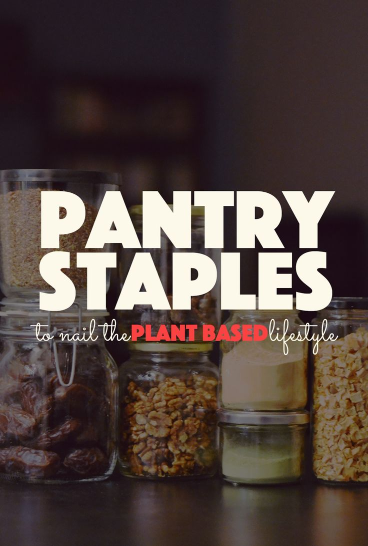 If you're curious about eating a sustainable and healthy diet, then you'll want to stock up on these pantry staples to nail the plant based lifestyle.