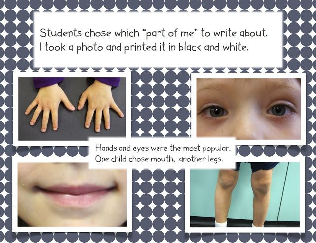 Hurray for FDK!: The Best Part of Me - writing activity