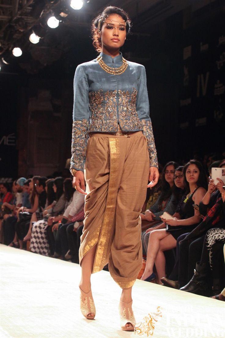 Anju Modi Lakme Fashion Week Winter 2014-7