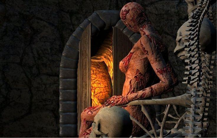 She waits ...He comes....