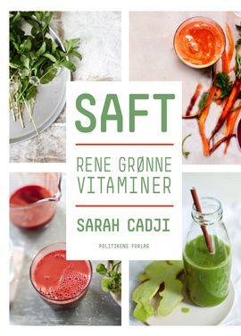 SAFT - rene grønne vitaminer indeholder 50 sunde opskrifter på grøntsagssafter, -shots og -smoothies, du selv kan lave med din saftpresser eller slowjuicer. Alle er de fulde af helsebringende egenskaber, som du kan læse mere om i bogen. Nogle af dem indeholder kun grøntsager, andre også lidt frugt - men aldrig for meget, så du på den måde ikke risikerer at få for meget sukker.