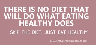 There is no diet