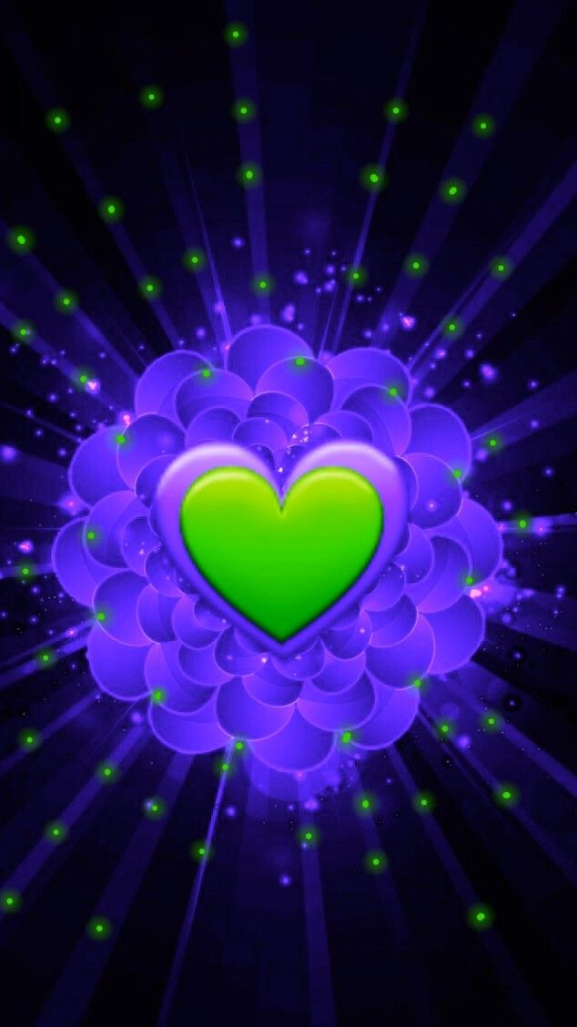 Pin By Amber Paige On Heart Heart Wallpaper Colorful Heart
