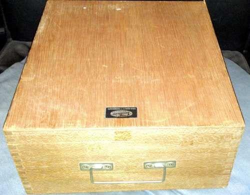 Microscopio Tasco Deluxe 1200x Con Caja De Madera - $ 800.00 en MercadoLibre
