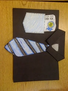 Love this idea for Father's Day (we always make something the last week of school)