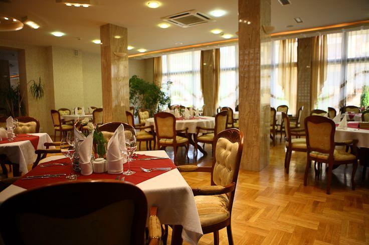 Wnętrze naszej restauracji #hotelklimek #hoteklimekspa #restauracjawhotelu #muszyna #mountains #gory #travel