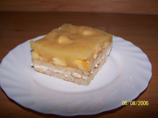Slavnostní jablkový dezert