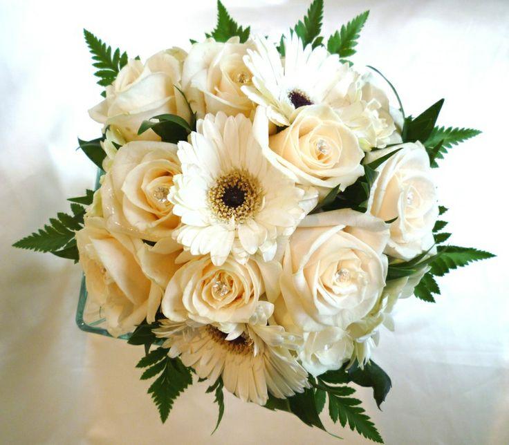 Bridal Cream mix bouquet x