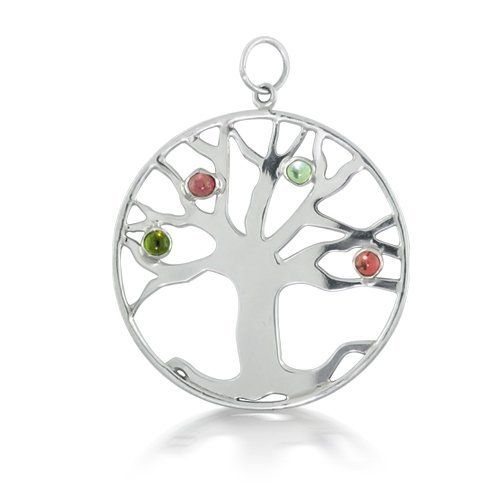 Bling Jewelry Sterling Silver Birthstone CZ Open Tree of Life Pendant Bling Jewelry. $89.99. Cubic Zirconia. Chain is not included. .925 Sterling Silver. Weighs 3.9 grams. Tree of Life design. Save 52% Off!