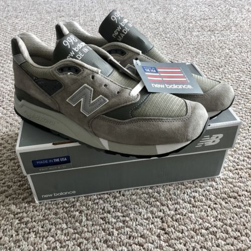 best loved ca9b2 98d5d Details about New Balance 997 Mens Size 10 US M997FGG Grey ...