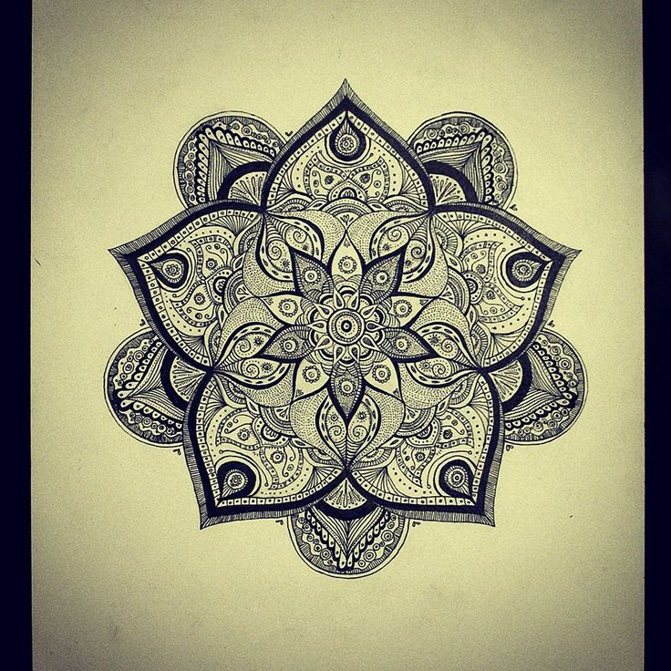 35 Spiritual Mandala Tattoo Designs: 37 Best Images About Mandala Flowers And Sacred Geometry