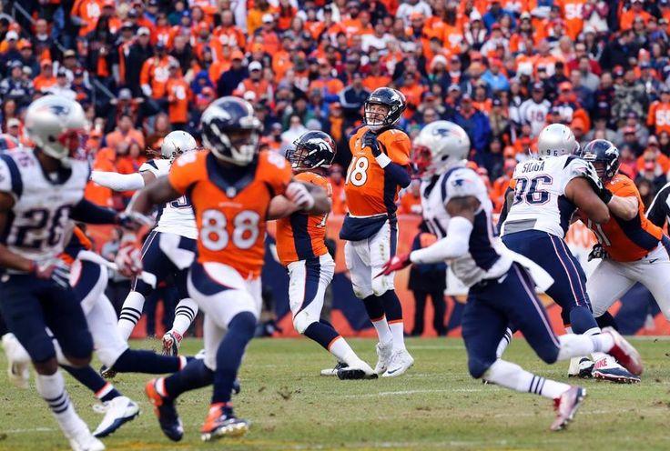 2016 AFC Championship: Broncos 20, Patriots 18    Peyton Manning to Demaryius Thomas