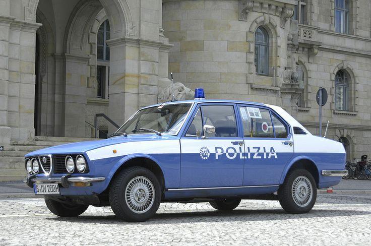 Alfa Romeo Alfetta Polizia