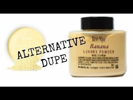 Ben Nye Banana Powder Dupe! - #bennye #bananabowderdupe #makeupdupe #beautypopsable - bellashoot iPhone/ iPad app & bellashoot.com