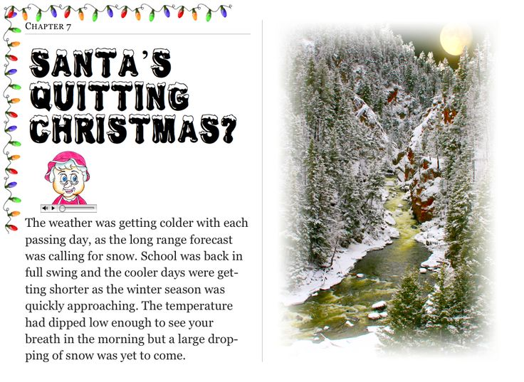 """Chapter 7 """"Santa's Quitting Christmas?"""" (my personal images are used in my #audio #ebooks for #Children 3-7 and #Illustrative #Poetry, available at: https://itunes.apple.com/ca/book/twas-year-that-santa-quit/id1161025863?mt=11 and www.jamesagrove.ca)"""