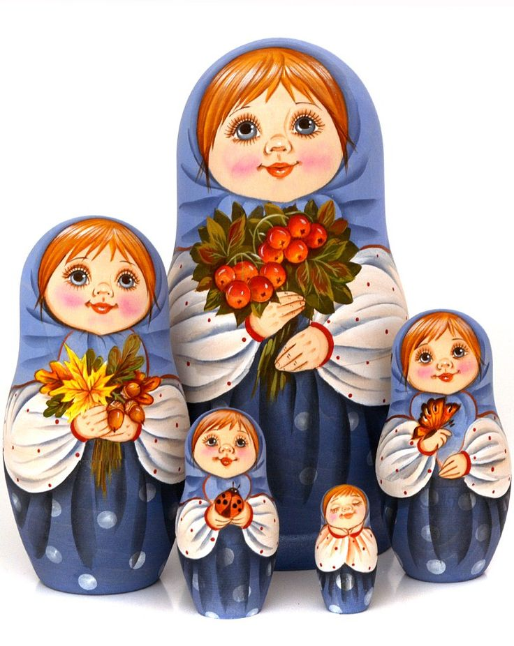 Matryoshka – Russian Nesting Doll #folk #art