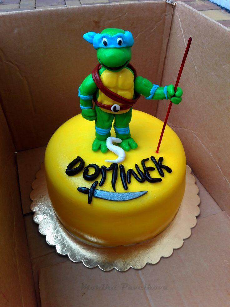 Ninja turtle CAKE. DORT želvy ninja.