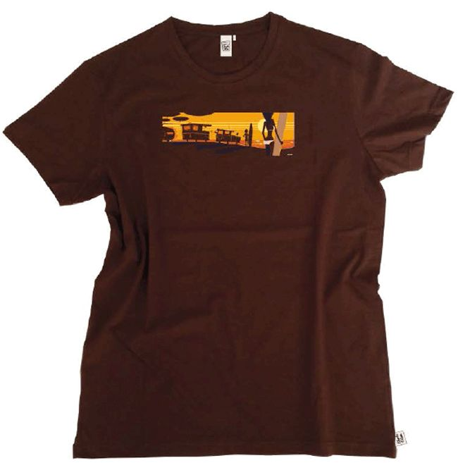 T-shirt Surf Camp. By Charlie Adam http://ibizaatomiccocktail.com/collections/t-shirt-charlie-adam/products/t-shirt-surf-camp-by-charlie-adam