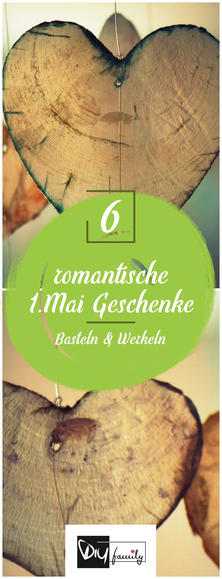 Der 1. Mai – 6 romantische Ideen rund ums Geschenk  #1.mai, #diy, #selfmade, #handmade, #present, #suprise, #romantic