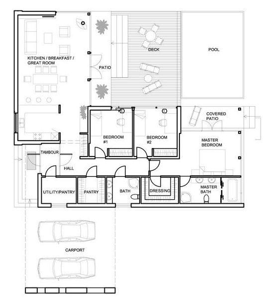 15 must see casas con piscina pins casas con alberca - Planos de casas minimalistas ...