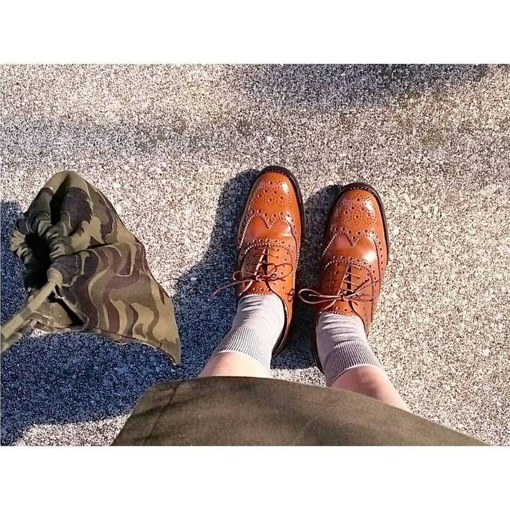 いつかは欲しい憧れの革靴CHURCH'Sチャーチのレディースシューズをご紹介