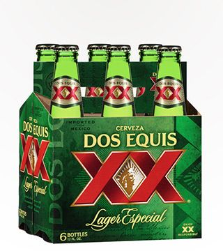 Dos Equis Lager Especial - $10.99 Mexican Lager. Crisp taste with roasted malts. 4.3% ABV