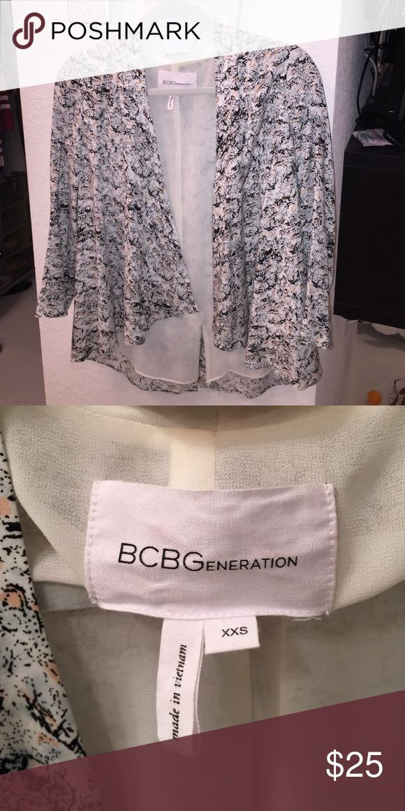 BCBGENERATION Jacket Lightweight jacket. Great for work or going out. BCBGeneration Jackets & Coats