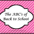 Organize your parent orientation and/or back to school night using this powerpoint. It gives helpful information for those first time kindergarten ...