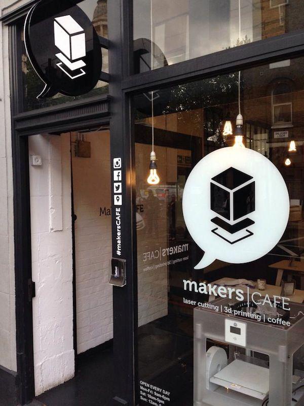 A Café For Designers, 3D-Print Your Ideas While You Sip On Coffee - DesignTAXI.com