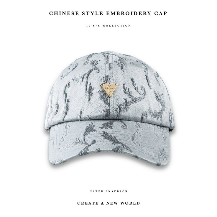 Chinese Style Embroidery Cap
